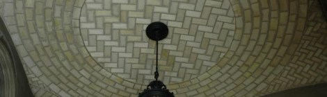 Tiled Barrel Vault Ceiling