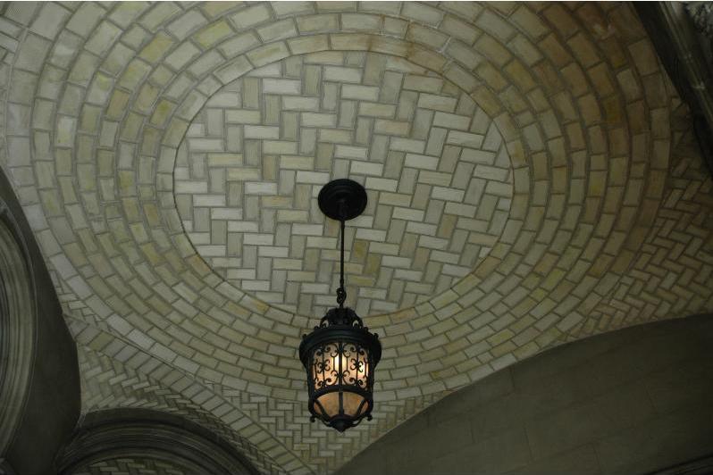 Tiled Barrel Vault Ceiling