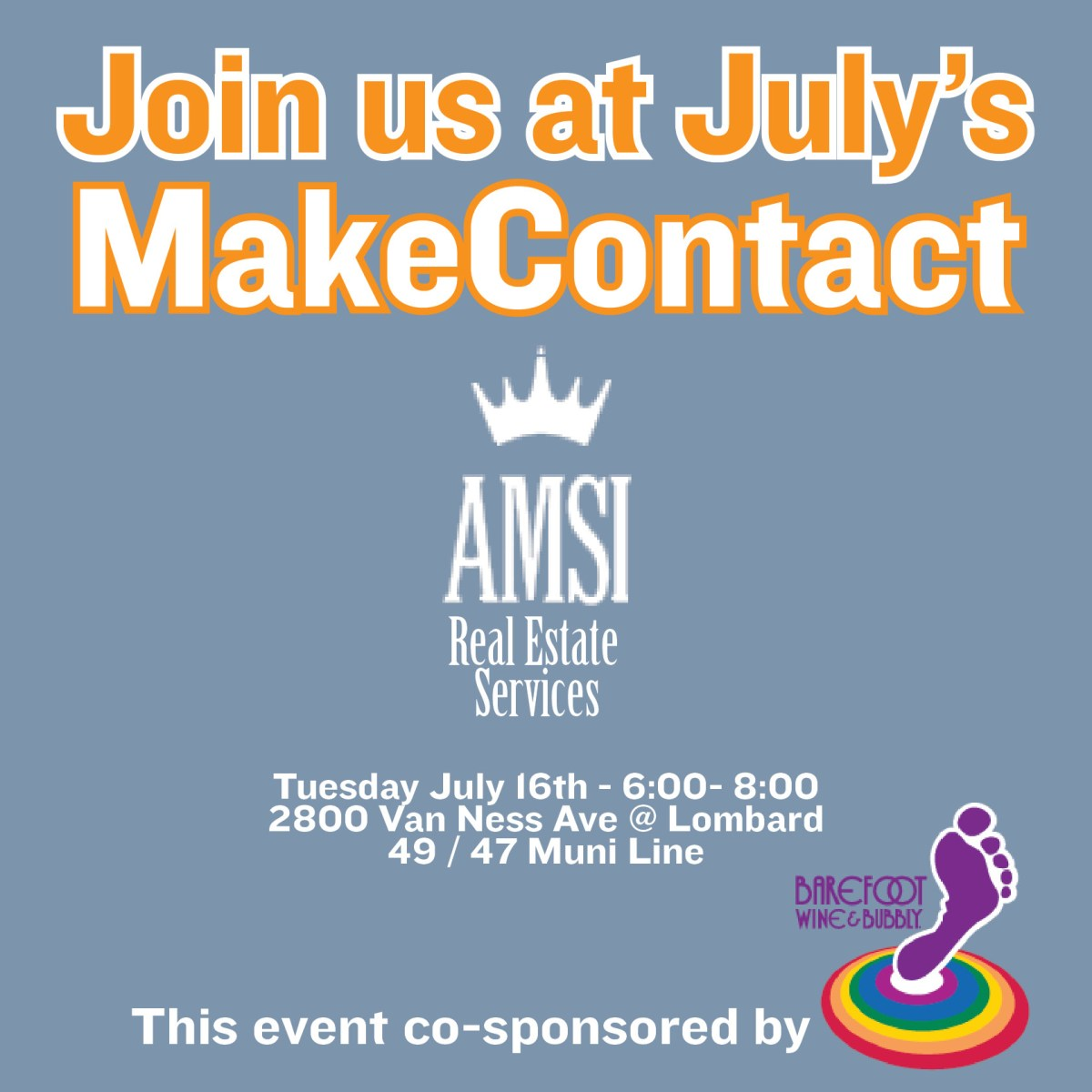 GGBA July Make Contact Hosted by AMSI