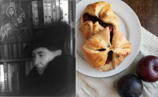 Willa Cather and spiced plum kolache, photo by Nicole at PaperandSalt blog.jpg
