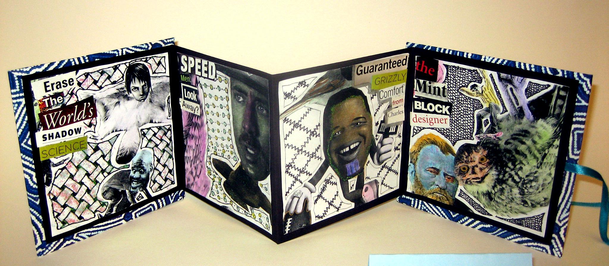 Surrealism Collage Books  Ms Amslers Artroom