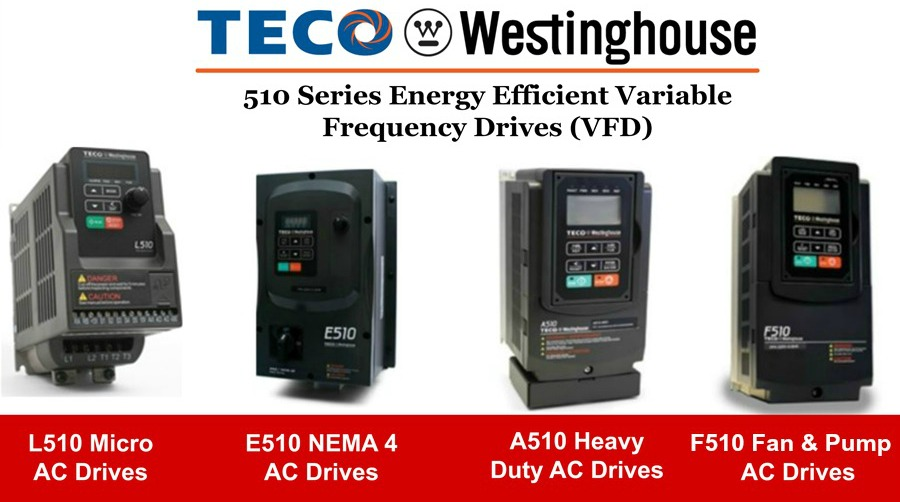 TECO Westinghouse 510 Series VFDs  Applied Motion