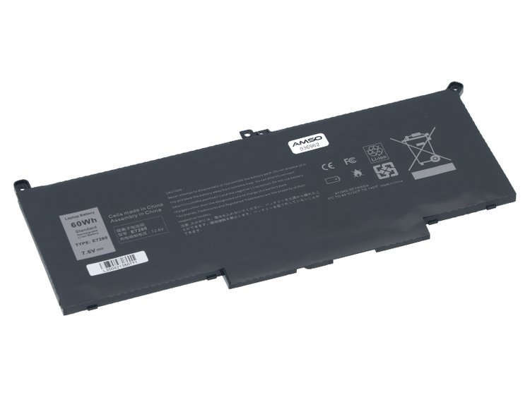 Nowa bateria do Dell Latitude 7280 7290 7380 7390 7480 7490 60Wh 7.6V 7500mAh F3YGT | Produkty \\ Produkty nowe \\ Laptopy. Tablety i Części ...