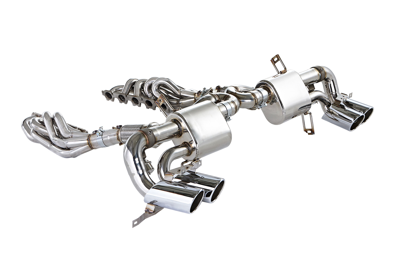 IPE Stainless Steel Valvetronic Exhaust System with Remote