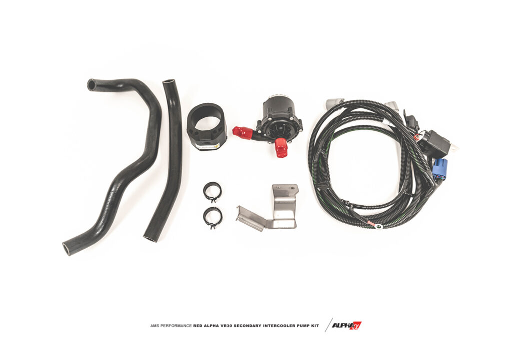 Q50/Q60 Red Alpha VR30 Auxiliary Intercooler Pump Kit