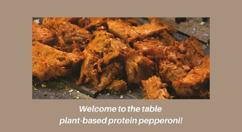 plant-based protein pepperoni