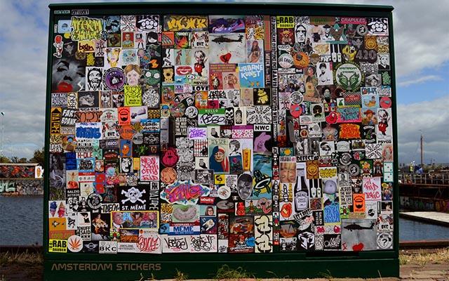 Stickers Combo NDSM Amsterdam