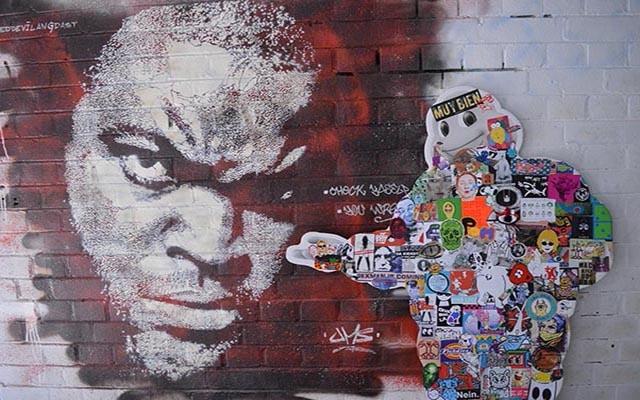 Berlin Street Art & Amsterdam Stickers