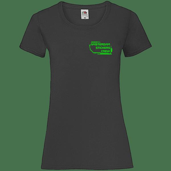 T-SHIRT FEMME CONNEXION (Black)