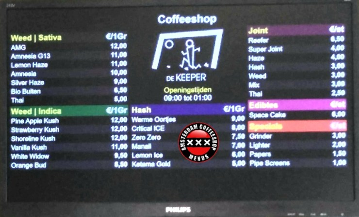 Coffeeshop De Keeper
