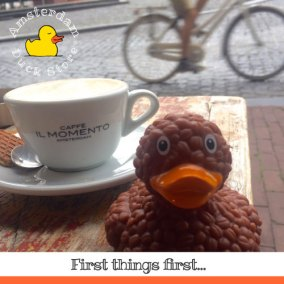 Let's catch up over a perfect cup of coffee @ Caffè il Momento