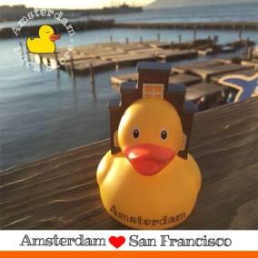 Amsterdam duck Pier 39 San Fransisco Amsterdam Duck Store