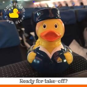 Flight attendant Airplane Amsterdam Duck Store
