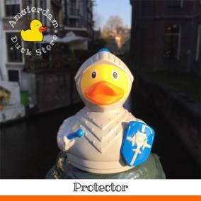Knight rubber duck Rokin Amsterdam Duck Store