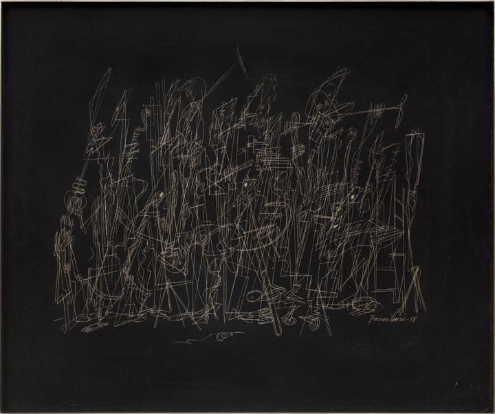 "Norman Lewis, ""Jazz Band."" 1948 (96654)"