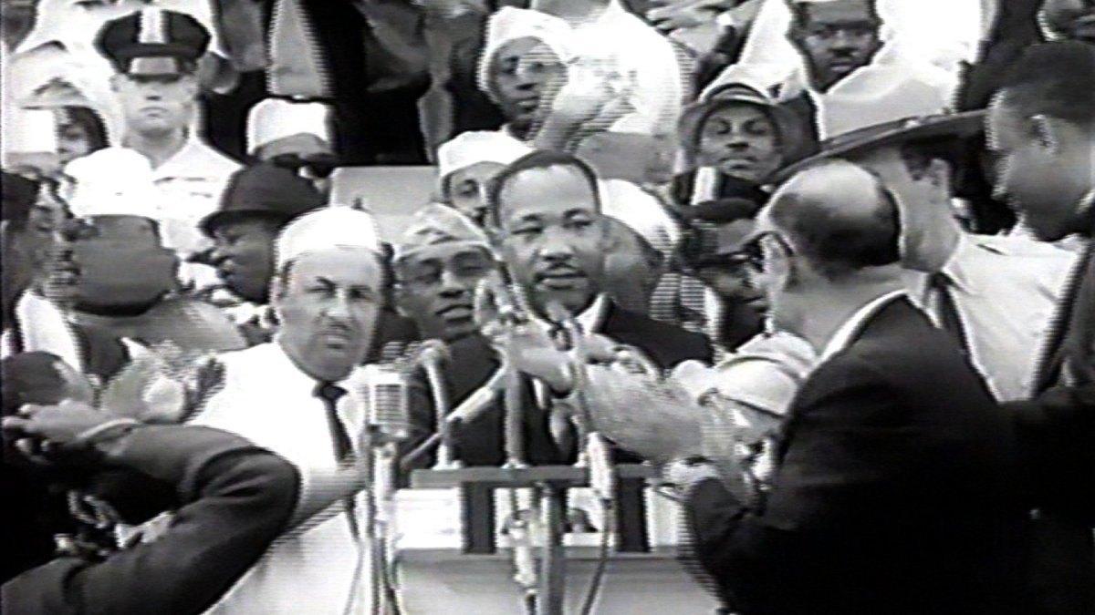 """Dr. Martin Luther King, Jr. delivers his """"I Have A Dream"""" speech on August 28, 1963 (181995)"""