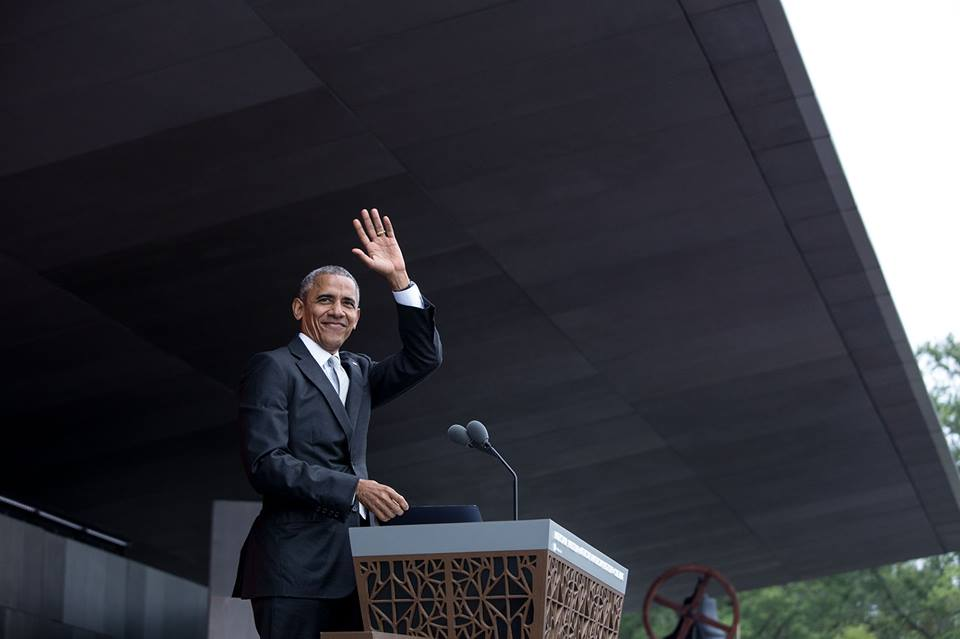 President Barack Obama speaks at the opening of the National Museum of African-American History and Culture (220456)