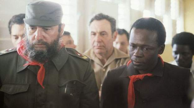 Presidents F. Castro of Cuba and J. dos Santos of Angola (226044)