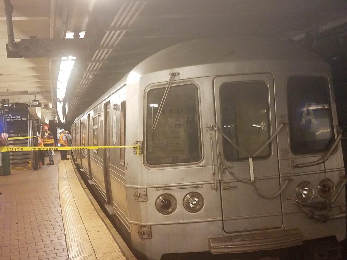Subway at 125th Street following the derailment (242769)