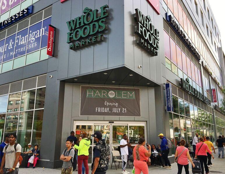 The front entrance of Whole Foods Market Harlem. (244386)