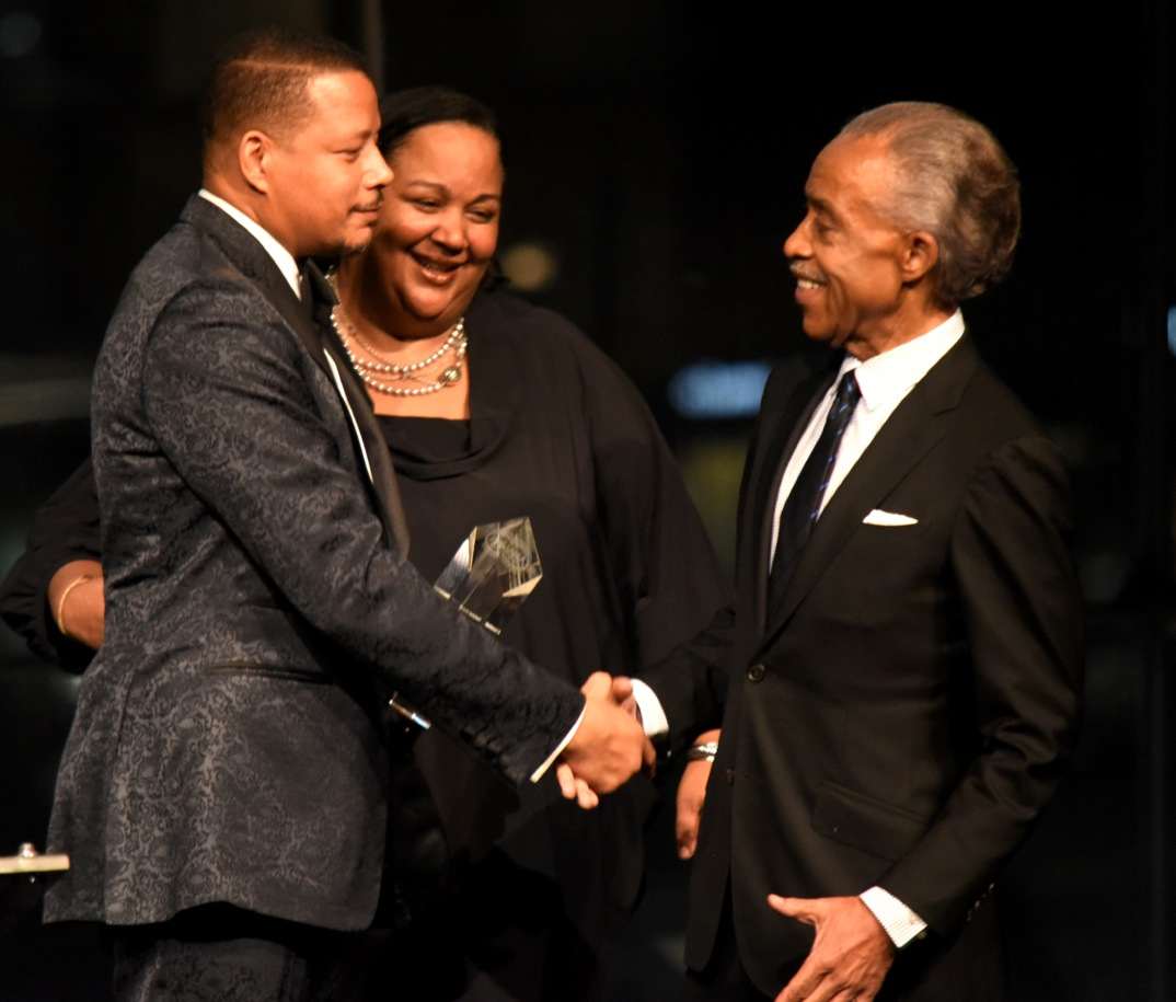 Terrence Howard with Rev. Al Sharpton (269275)