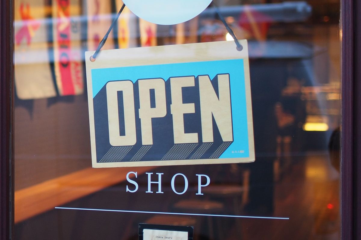 Small business/open sign (269976)