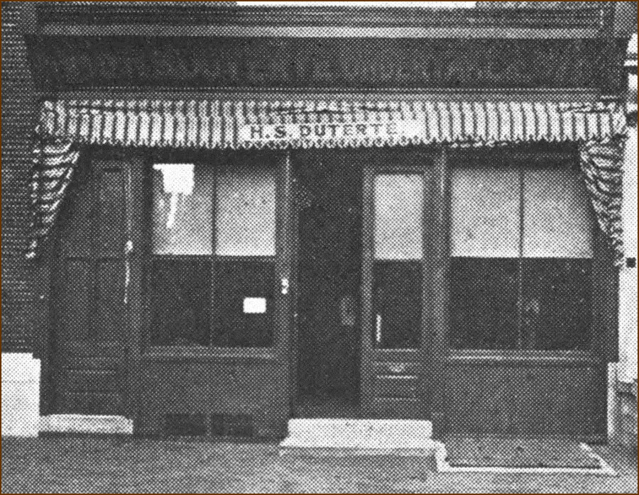 The Duterte building at 838 Lombard Street in Philadelphia was both a funeral home and a stop on the Underground Railroad (292447)