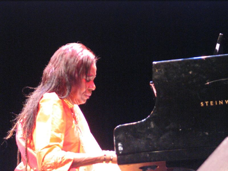 Alice Coltrane performing in France, 2006 (305579)