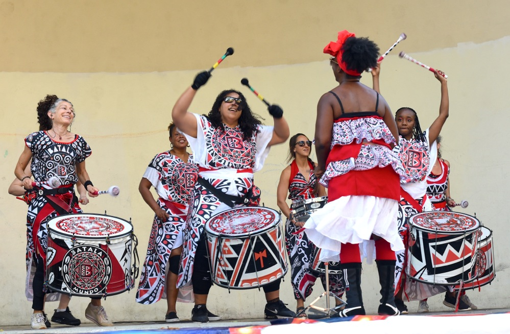 12th annual NYC Multicultural Festival at Jackie Robinson Park Bandshell (305357)