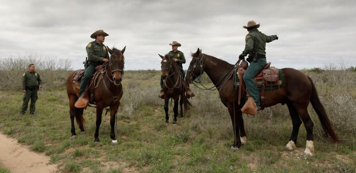 U.S Border Patrol agents in Texas (308836)
