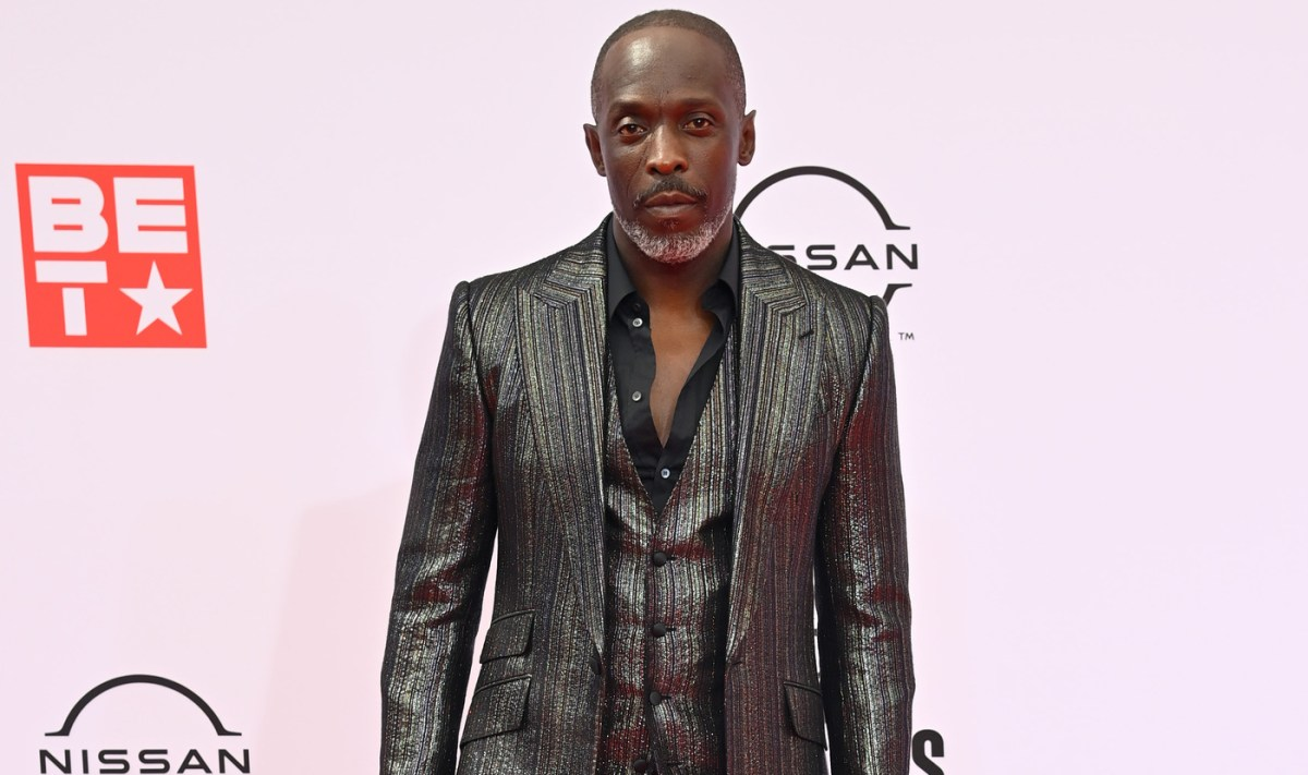 Michael K. Williams on the red carpet at the 2021 BET Awards (308246)