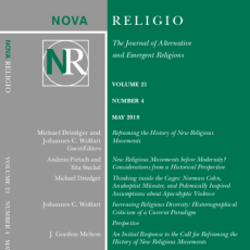 Reframing the History of New Religious Movements