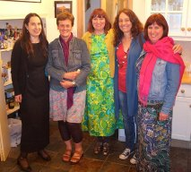 Cathy and friends,York, June