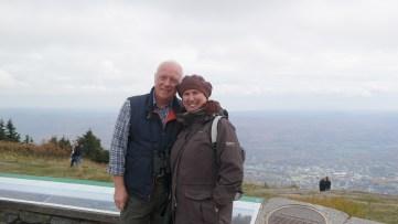 On top of Mt Greylock