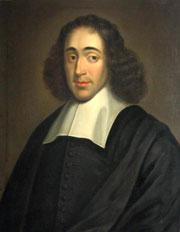 Portret van Spinoza