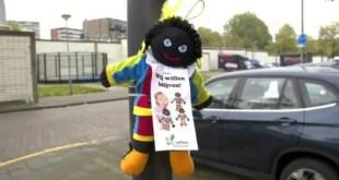 Zwarte Piet on a pole