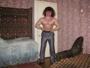 Macho Russian man