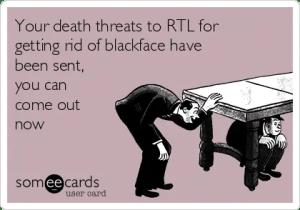 people against zwarte piet often receive death threats