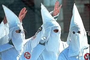 How to get into clubs in Breda if you're black wear klu klux klan uniforms