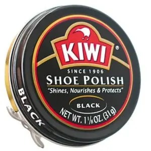 shoe polish for Zwarte Piet