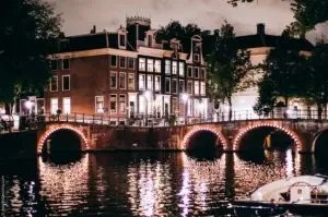 Living in Amsterdam a romantic city