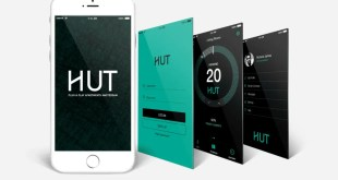 The Hut Amsterdam smartphone app