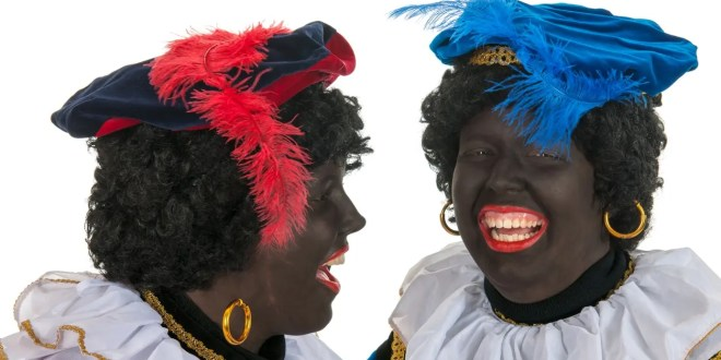 Black is black and so is Zwarte Piet!