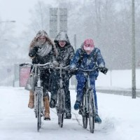 Reasons To Cycle In The Snow Like the Dutch