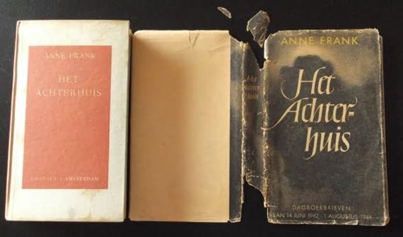 Zeldzame Eerste Druk Dagboek Anne Frank Geveild Voor Ruim 7000 Euro