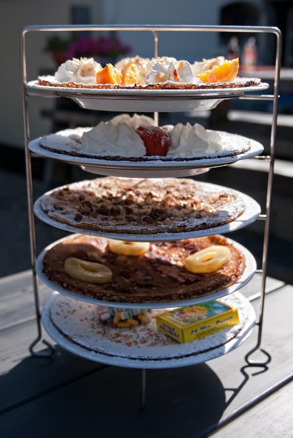 Pancakes at Boerderij Meerzicht, the pancake house Amsterdam food