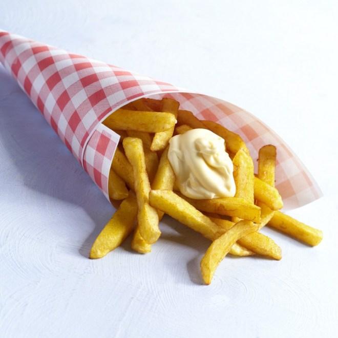Chips, frietjes from Vlemenickx in Amsterdam
