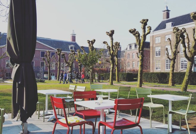 Terrace at Dignita Hoftuin Amsterdam