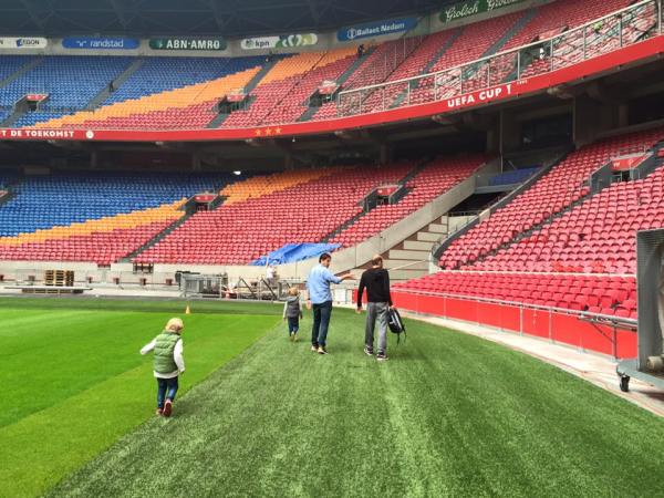 Stadium tour at Ajax - Amsterdam Arena