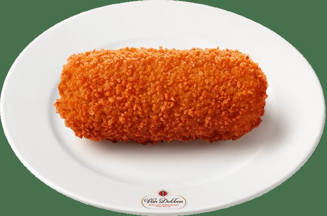 kroket from Van Dobben in Amsterdam - Dutch foods to try in Amsterdam